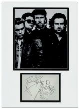 U2 Autograph Signed Display